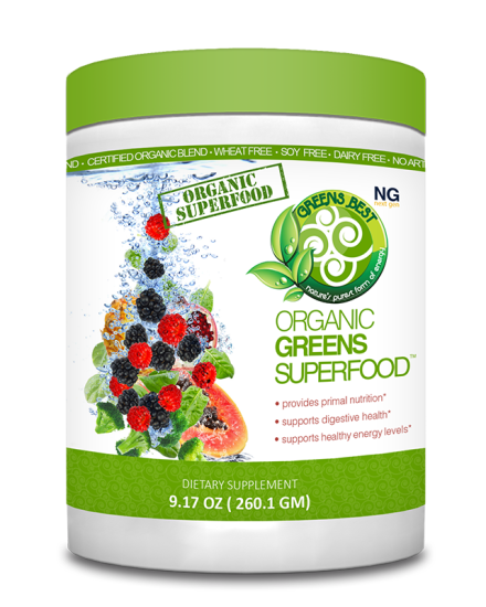 Organic Greens Superfood Supplement