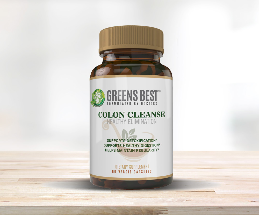 Colon cleanse bottle